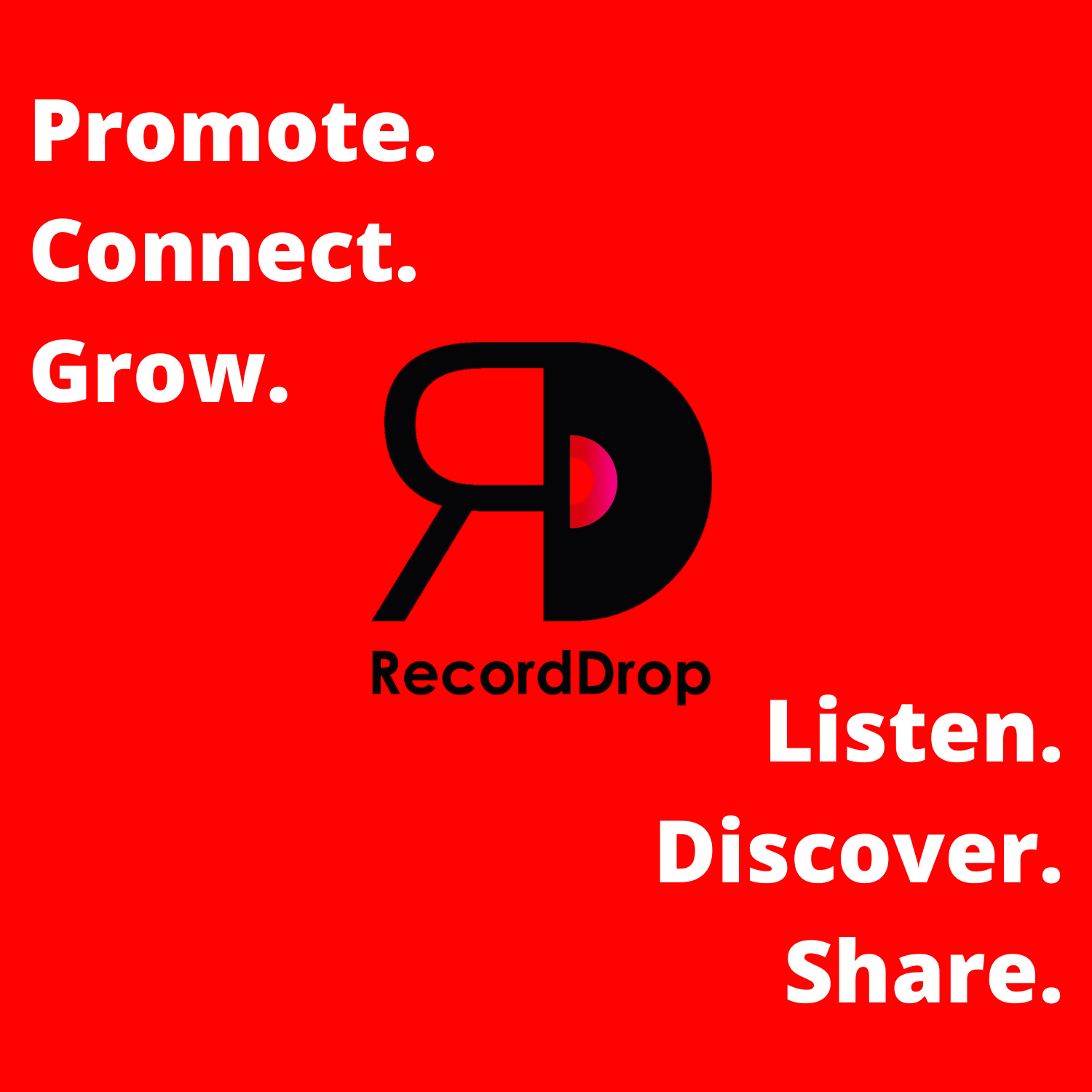 TIRED OF LOOKING FOR NEW MUSIC? THIS IS RECORDDROP.