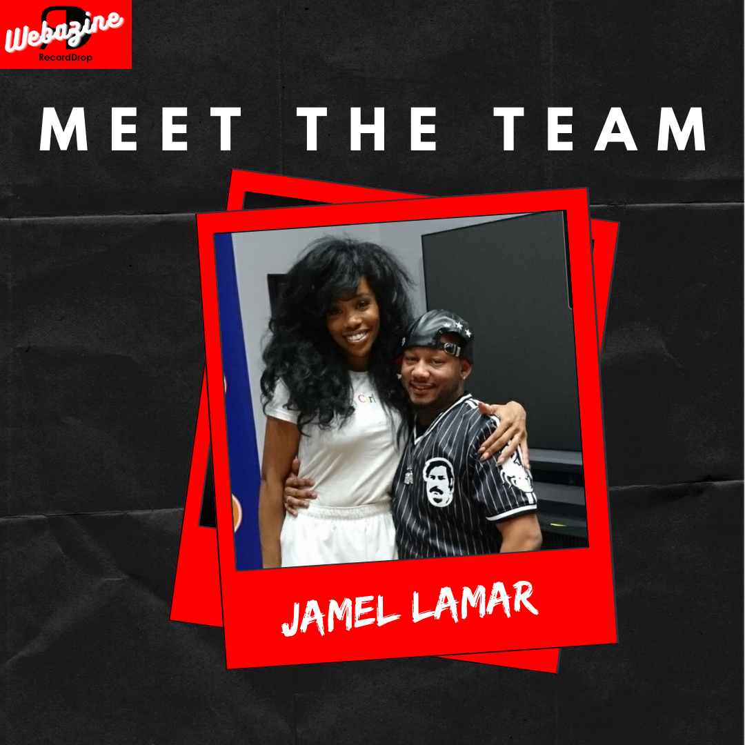 """Stood Up by SZA?""                   Our Energetic VP of Talent and Business Relations Jamel Lamar."