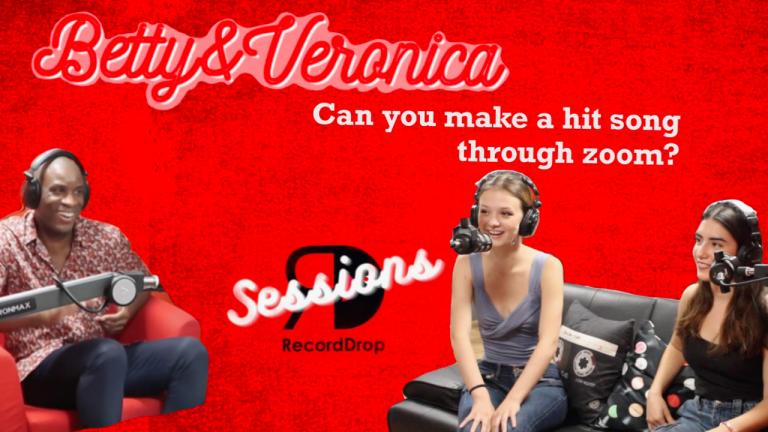 RECORDDROP SESSIONS DEBUT: BETTY&VERONICA
