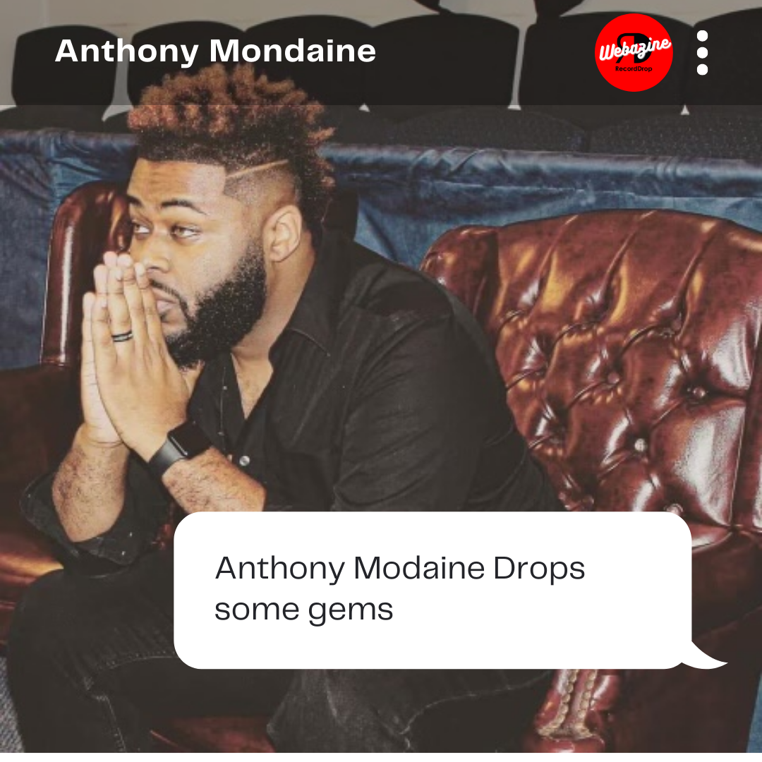 Speaking His Truth: Anthony Mondaine