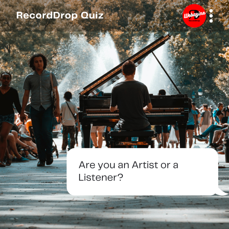 Are you an Artist or Listener?