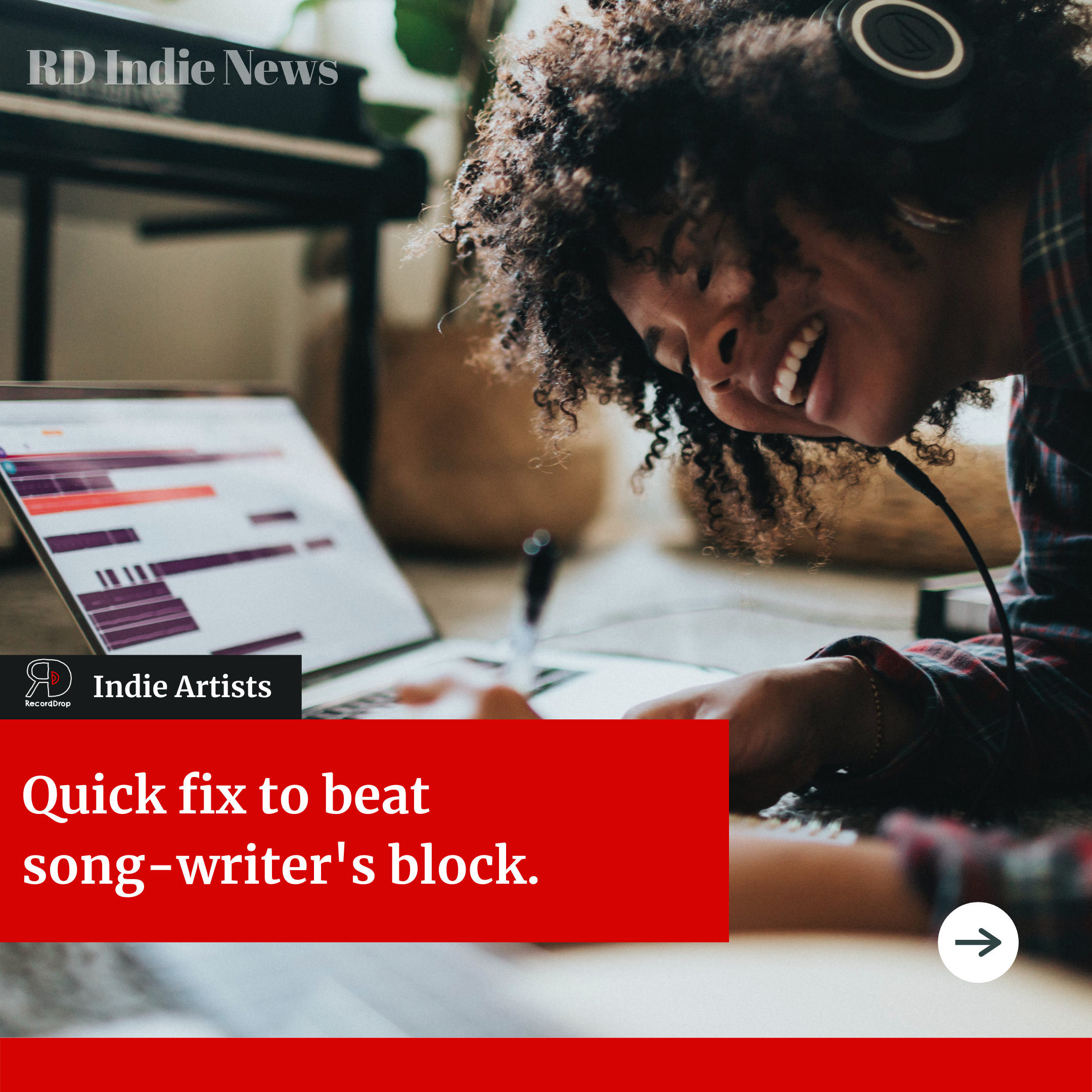 Losing motivation to write new music? How to get ideas flowing.